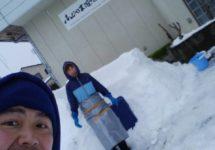 かまくらを作る KAMAKURA o tsukuru  Make a KAMAKURA(Snow hut)